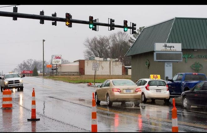 Several NCDOT projects, including the widening of Winston Road, have been delayed or rescheduled