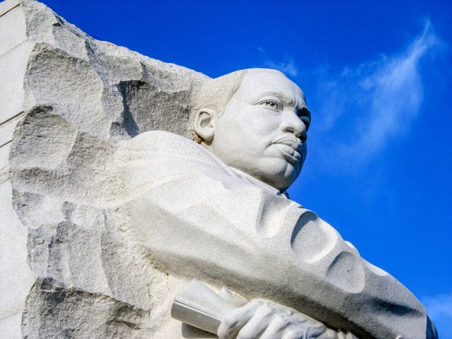 The memorial to Martin Luther King, Jr. in Washington, D.C.