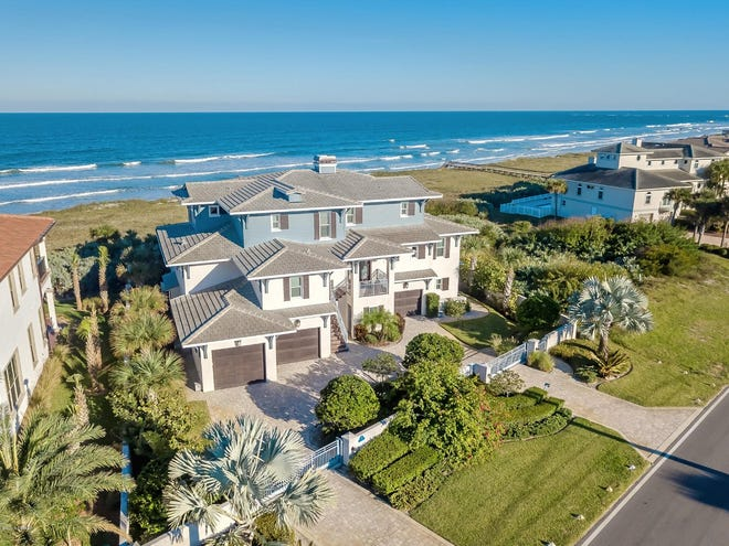 This oceanfront home at 4825 S. Atlantic Ave. in Ponce Inlet sold in January 2020 for $3.745 million. It was the most expensive home sold in Volusia County last year.