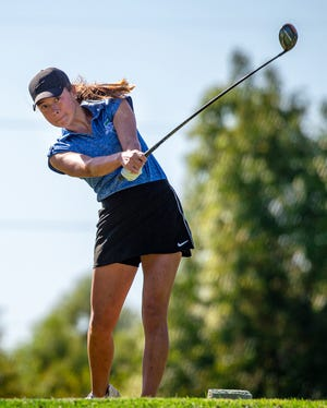 Blue Springs South sophomore Maya McVey earned her first all-state honor this season and medaled in every tournament. She is The Examiner's 2020 Girls Golfer of the Year.