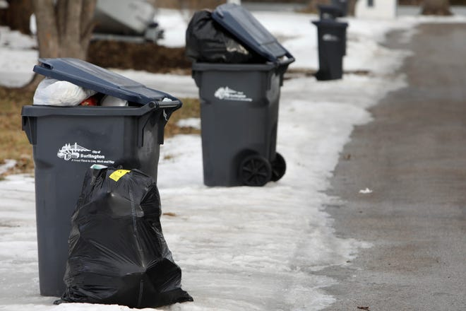 Alexandria is telling residents to expect delays in picking up trash that accumulated over the week of back-to-back ice storms.