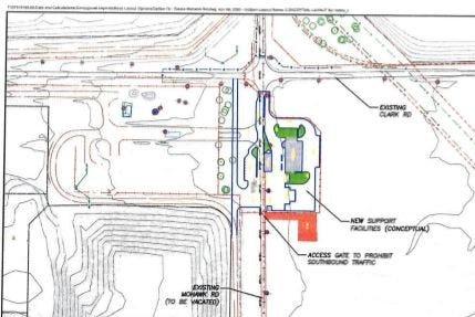 Reno County landfill upgrade map