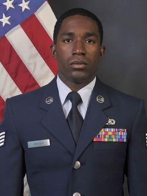 2020 USO Airman of the Year Staff Sgt. Nigel C. Archer, Jr.