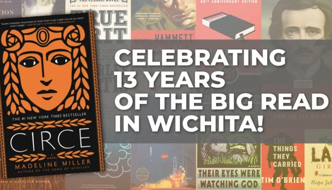 """The Big Read"" is returning to the Wichita, and Newton, library system this month."