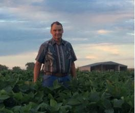Randy Bunnel grew up on a farm in southern Anderson County. As a third-generation farmer, Randy oversees the Bunnel farming operation, which now includes row crops of corn, wheat, soybeans and putting up hay for his 75-head cow-calf herd.
