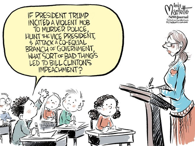 Today's editorial cartoon (Jan. 15, 2021)
