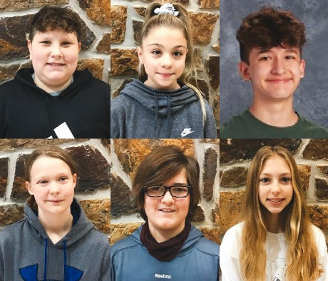 School of the Osage announces December Leaders of the Month