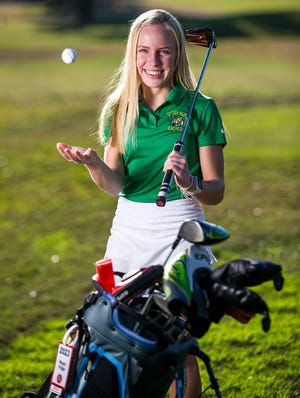 Megan Griggs, a sophomore at Forest High School, is this year's Ocala Star-Banner Girls Golfer of the Year.