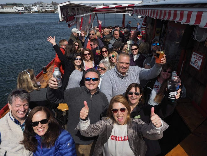 """A prior """"Hit the Decks"""" celebration at Old Ferry Landing in Portsmouth."""