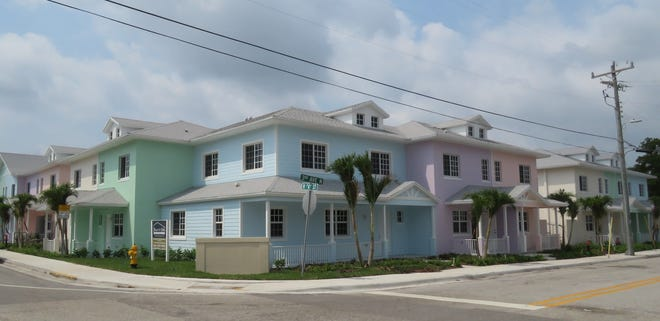 Adopt-A-Family's Third Avenue Homes are 14 units of affordable housing in Lake Worth's Tropical Ridge neighborhood.