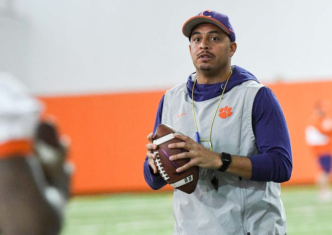 Clemson offensive coordinator Tony Elliott  is a candidate for the same position with the Miami Dolphins.