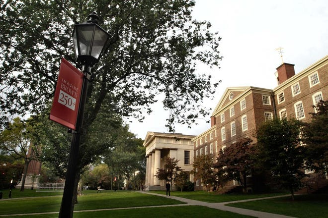 Brown University has seen a recent spike in COVID-19 cases, but a spokesman says there has been no correlation with a party involving a group of students who traveled outside the country.