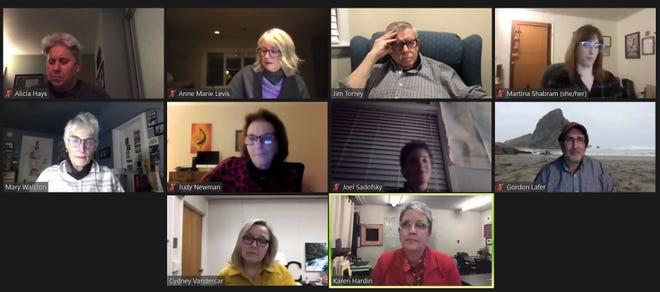 Eugene School Board virtual meeting Jan. 14, 2021