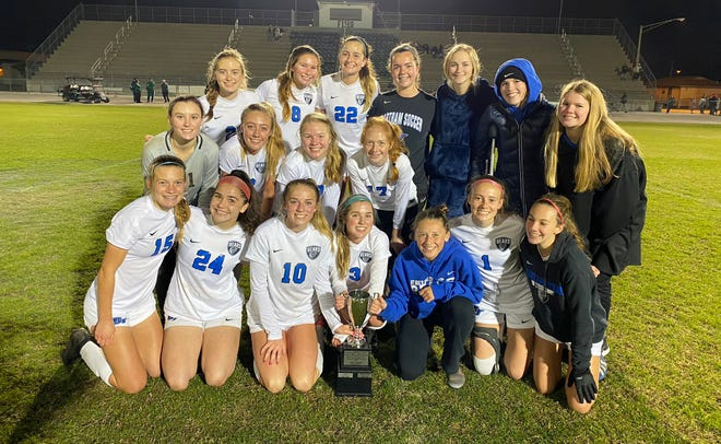 The Bartram Trail girls defeated Fleming Island to win the St. Johns River Athletic Conference soccer championship game on Wednesday.