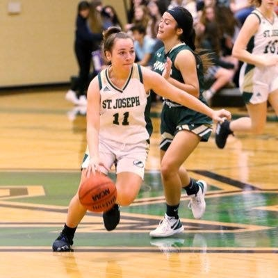 Senior guard Jessamy Gaetanos (11) is averaging 16 points, 5.5 assists and 3.5 rebounds per game.