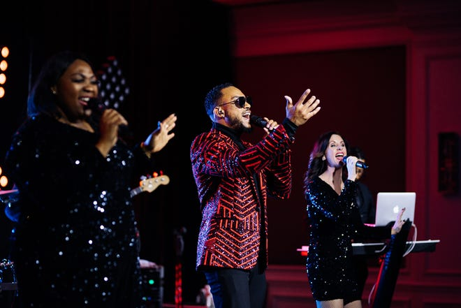 The Royals perform at the fourth annual Hospital Gala hosted virtually by the Sarasota Memorial Healthcare Foundation on Jan. 9 at The Ritz-Carlton Sarasota. The event raised roughly $900,000 in support of Sarasota Memorial Hospital'sfrontline health care workers.