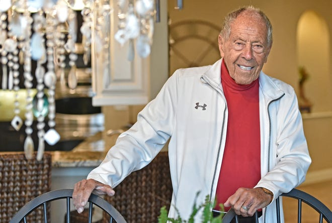 "Nick Bollettieri's 4,560-square-foot, four-bedroom home overlooking Palma Sola Bay was built in 2008. ""It's a really special property,"" said listing agent Adam Cuffaro of Michael Saunders & Co."