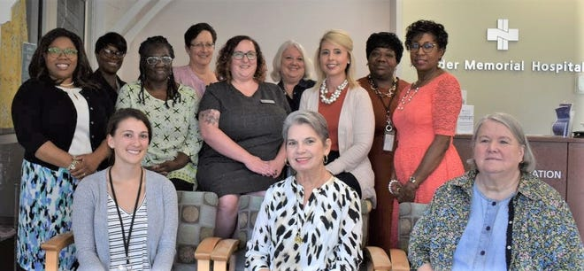 Several Pender Trailblazers at a recent meeting.