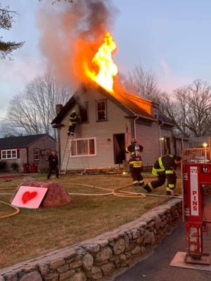 The Middleboro Fire Dept. responded to two house fires on Wednesday, Jan. 13.