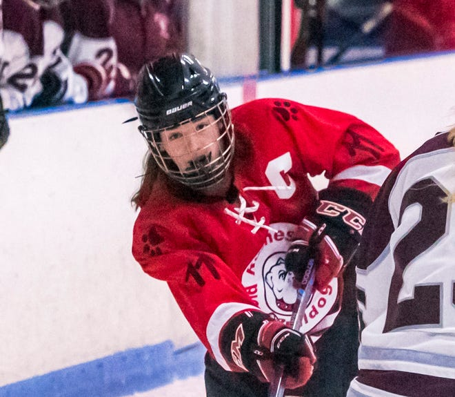 Carly Drew, seen last season here, scored Old Rochester's lone goal on Wednesday.