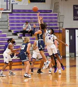 Topeka West and Elijah Brooks (4) avoided Hayden's upset bid last Friday and will look to keep their undefeated season going this Friday against Highland Park.