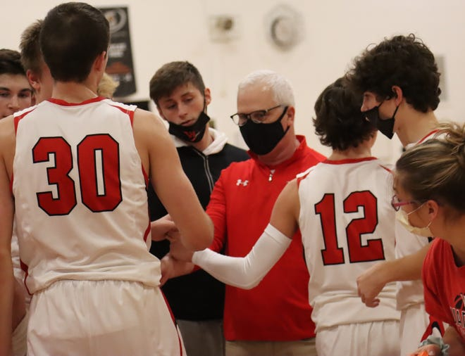 Wamego boys basketball coach Troy Hemphill won his 300th game with the program on Tuesday at Abilene. Hemphill is just four wins from 450 overall as a head coach in 34 years.