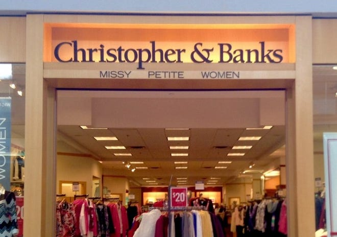 Christopher & Banks Corporation, a specialty women's apparel retailer with a store at the Richland Mall, Thursday announced that it has filed voluntary for bankruptcy.
