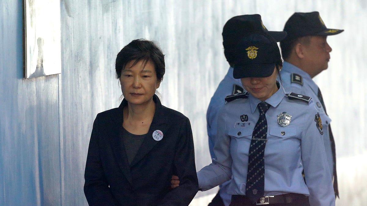 S. Korean court confirms 20-year term for ex-president Park 1