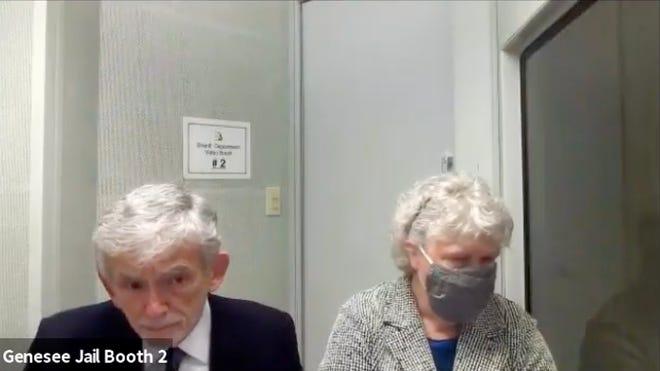 Nancy Peeler, mantan direktur Kunjungan Rumah Ibu, Bayi, dan Anak Usia Dini untuk departemen kesehatan negara bagian, hadir di pengadilan, Kamis, 14 Januari 2021.