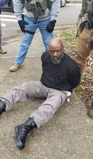 Police arrested Rodney Harris, 48, of Knoxville, who is charged with murder and aggravated assault after a deadly shooting that occurred Tuesday afternoon, Jan. 13, 2021.