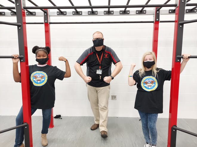 Southside Middle School opened its public fitness center in October of 2020. The facility was made possible through funding from the National Foundation for Governors' Fitness Councils.