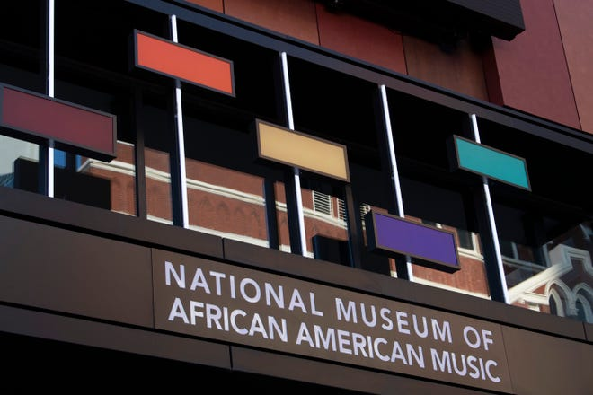 The National Museum of African American Music resides in the 5th and Broadway development in Nashville, Tenn. Visitors will be able to enjoy the museum when it opens to the public in late January 2021.