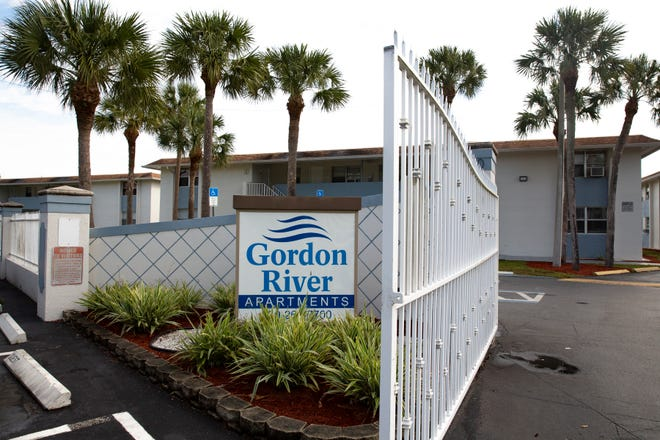 The Gordon River Apartments is pictured, Wednesday, Jan. 13, 2021, in River Park East. The city of Naples is considering options to get involved in the ownership of the Gordon River Apartments property in River Park East in an effort to provide more affordable housing in the city.