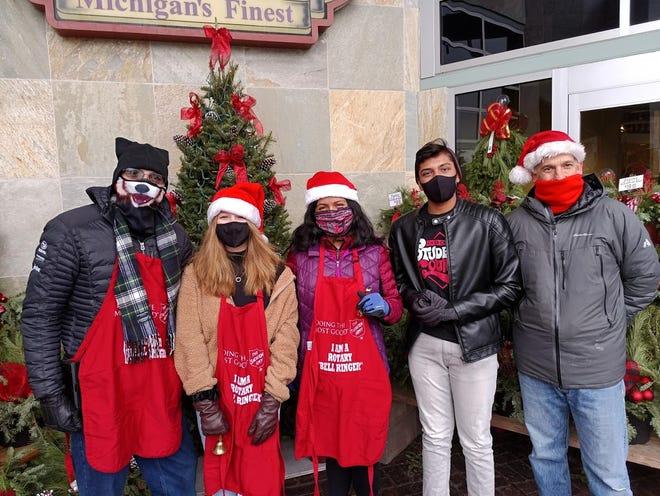 Livonia Churchill Rotary Club members are raising money for ShelterBox.