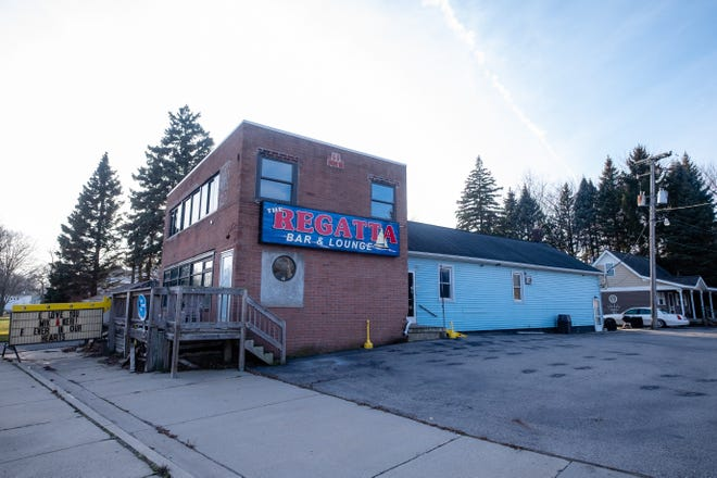 The former Regatta Bar and Lounge in East China Township is for sale.