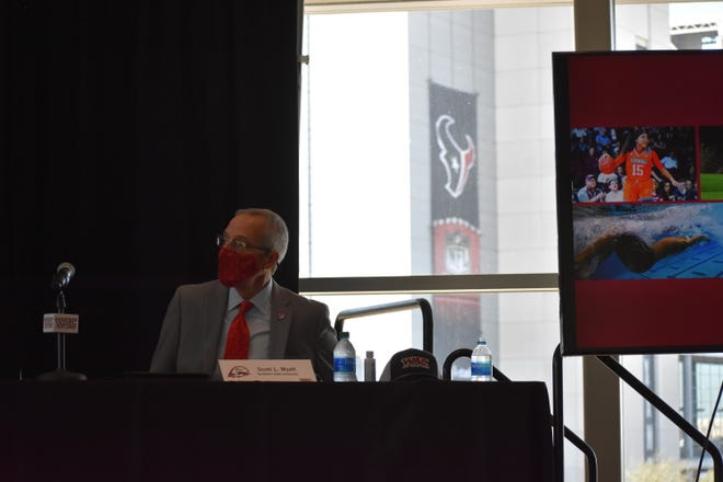 Southern Utah University officially announces its intention to join the WAC in 2022 in Houston, Texas, on January 14, 2021.