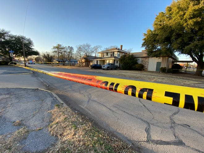 Wichita Falls Police investigate a reported shooting Thursday afternoon in the 2300 block of 10th Street.