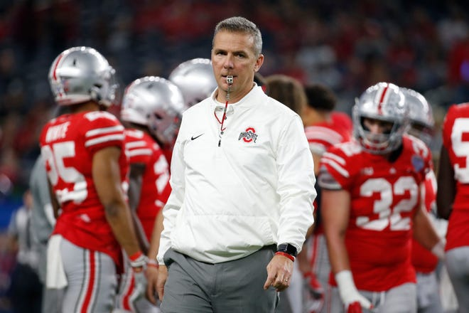 Urban Meyer coached Ohio State from 2012-18.