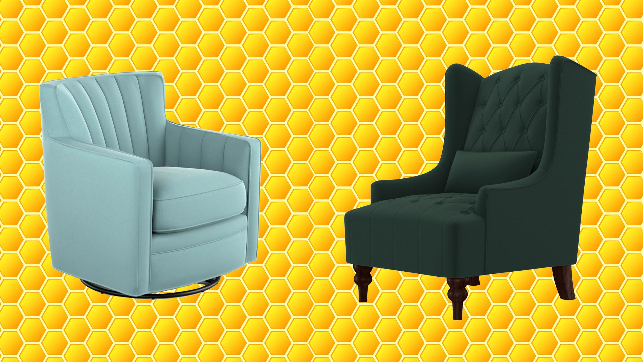 Tons of top-rated accent chairs are on sale from $80 right now at Wayfair