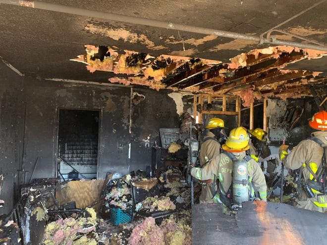 A person had to be evacuated from their home Friday afternoon because of a fire in Northeast Austin, according to Austin fire officials.