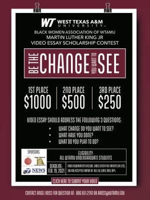 MLK Scholarship Flyer