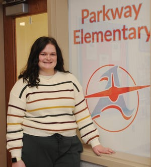 Mariah Shaffer, a teacher in Alliance City School District, is The Alliance Review Stark Federal Credit Union Teacher of the Month for January.