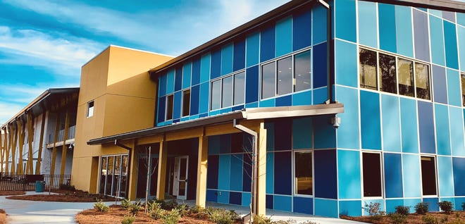 The education center at the new Hilton Head Christian Academy campus at Masters Way on Bluffton Parkway.
