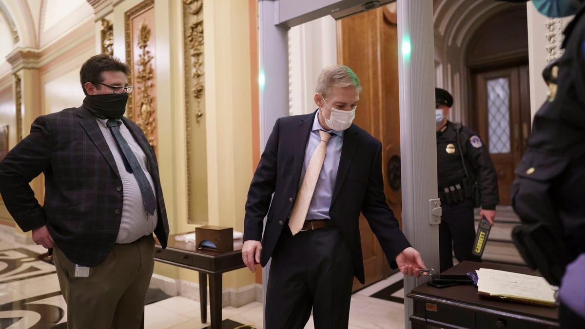 Capitol Insider: Steve Stivers, Jim Jordan say new Capitol metal detectors defy Constitution