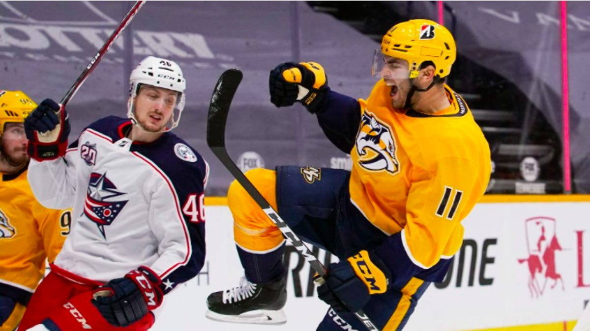 Five takeaways from the Blue Jackets' disappointing loss to the Nashville Predators