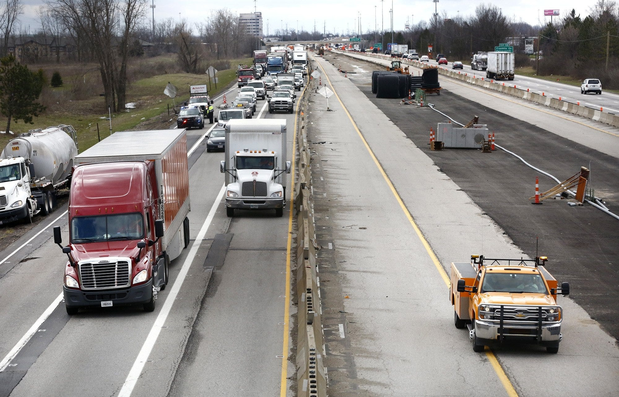 dispatch.com - Rick Rouan, The Columbus Dispatch - Could Ohio pause new construction? Gas tax revenue lags as drivers stay home in pandemic
