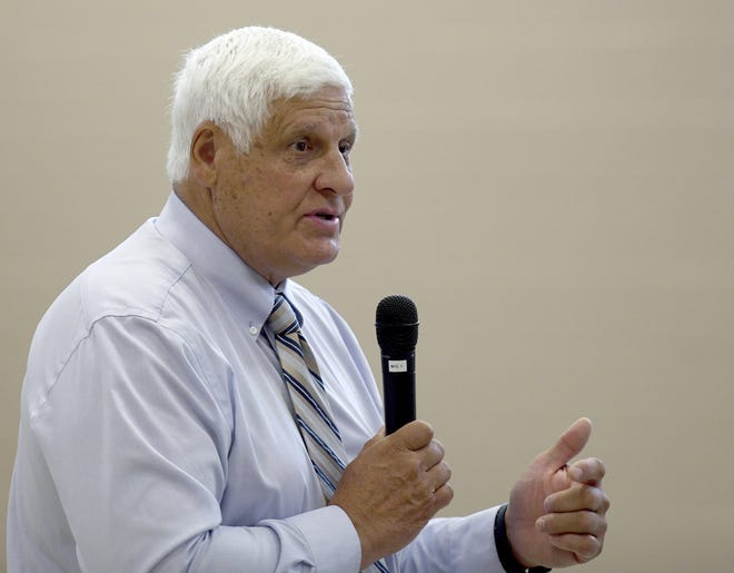 Ohio Rep. Bob Gibbs filed articles of impeachment against President Joe Biden over the withdrawal of U.S. forces from Afghanistan and situation at the southern border.