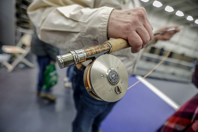 Outdoors expositions such as this fly-fishing expo in Michigan in 2019 will be scarce in Ohio in 2021.