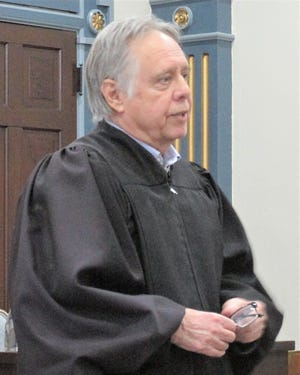Bob Rinfret shared thoughts about his legal career, which has spanned nearly 50 years. Rinfret retires Feb. 8 after 11 years as Holmes Count Common pleas judge. He cites the abuse of drugs as the biggest criminal issue facing the county.