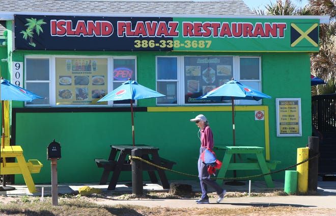 Island Flavaz Restaurant, Jan. 15 in Flagler Beach.